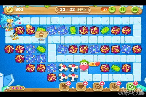 Carrot Fantasy 2 Game Ice World Theme Walkthrough Level 50