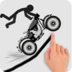 Stickman Racer Road Draw Walkthrough and Gameplay