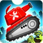 Zombie Survival Games: Pocket Tanks Battle Walkthrough