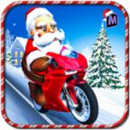 Crazy Santa Moto Gift Delivery Walkthrough Level 1 to 10