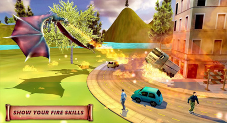 The Game Features Gorgeous HD Graphics Realistic Sound Effects 4 Dragon Simulator Dragons Multiple Destruction Simulation Tasks And 10 Levels