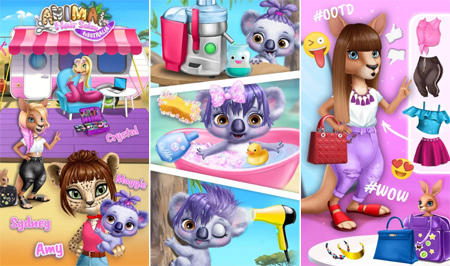 Image of: Puzzles The Game Focus On Helping Kids Develop Creativity And Selfexpression Enjoy Endless Creativity Style Makeovers And Fashion Dress Ups Marvin Games Animal Hair Salon Australia Funny Pet Haircuts Walkthrough