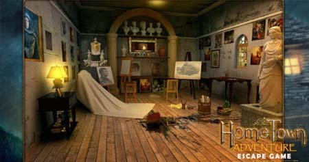 Escape Game: Home Town Adventure Walkthrough All 12 Parts – Marvin Games