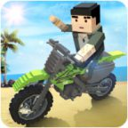 Blocky Moto Bike SIM: Summer Breeze Walkthrough and Gameplay