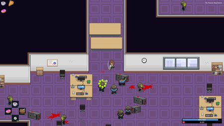 Zombie Office Politics Walkthrough and Gameplay – Marvin Games